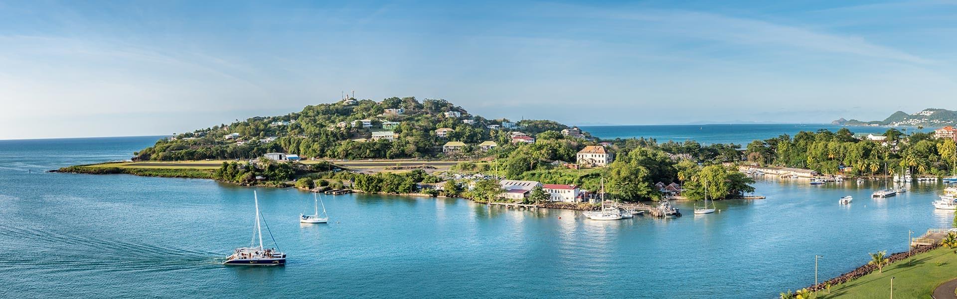 ElCaribe:Curazao, Aruba y Santa Lucía