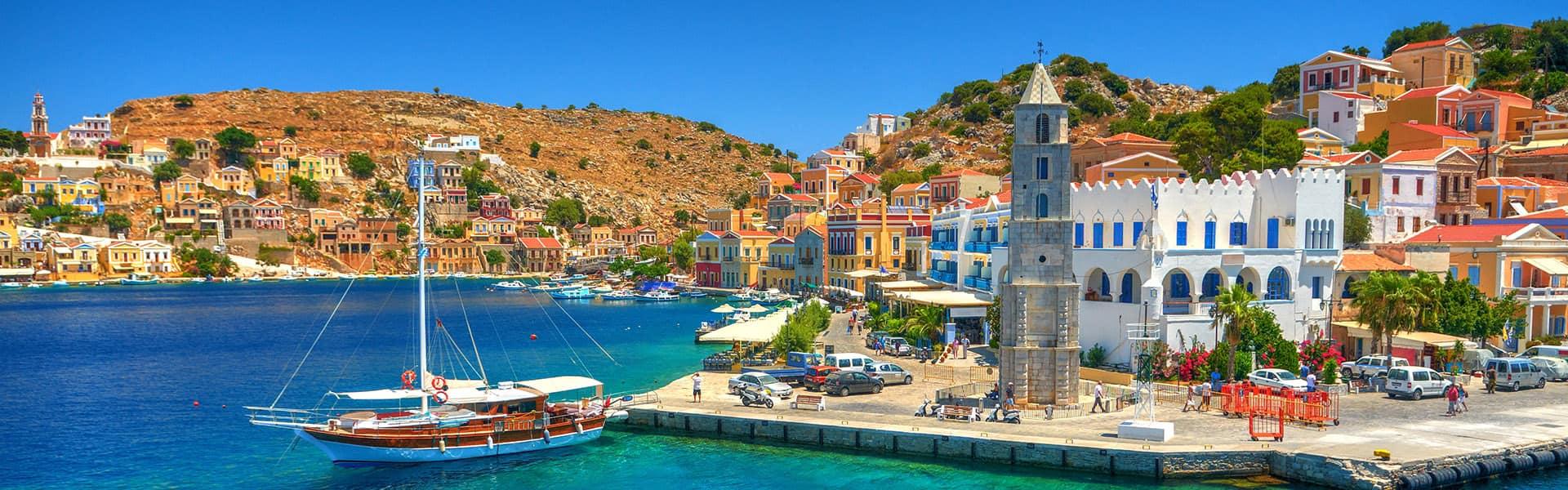 Mittelmeer: Italien, Griechenland und Türkei