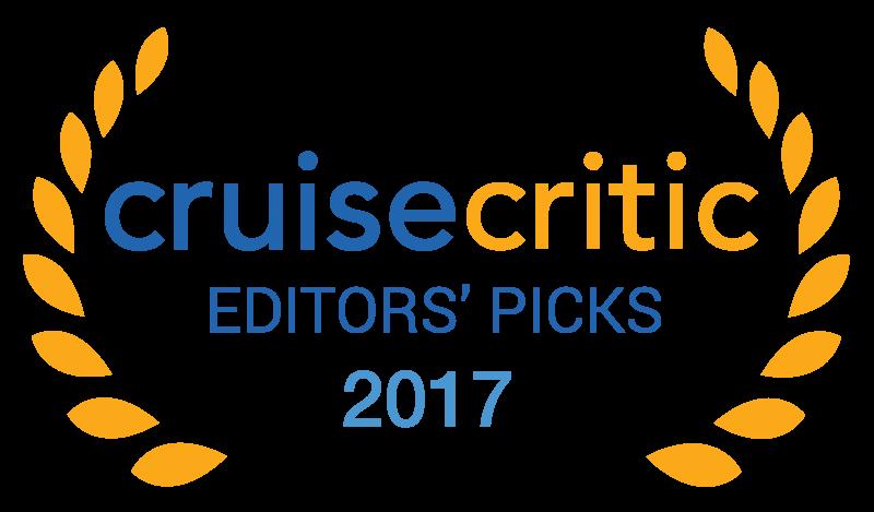 Prêmio de melhor vida noturna de 2017 da Cruise Critic