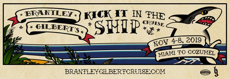 Brantley Gilberts Kick It In the Ship
