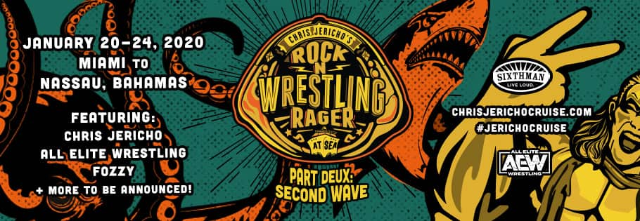 Rock 'N' Wrestling Rager at Sea de Chris Jericho: Part Deux