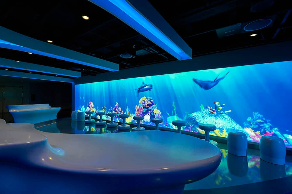 Galaxy Pavilion en el Norwegian Joy