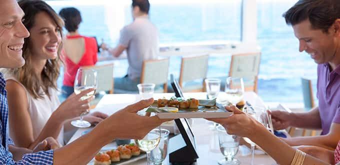 Food Republic: restaurante de especialidades de Norwegian