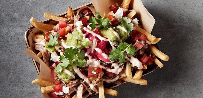 Comida frita de Tijuana en Food Republic