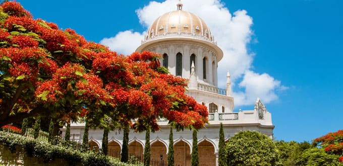 Marvel in the sacred architecture of Haifa's Bahai Temple