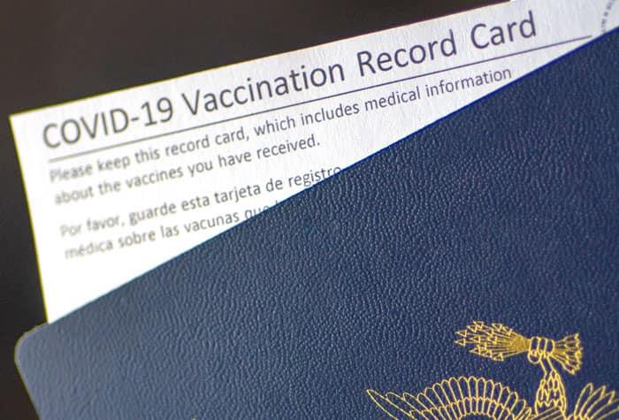 Certificado de vacunación y pasaporte