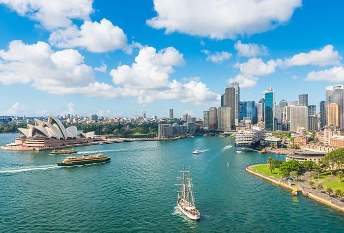 Kreuzfahrt nach Australien und Neuseeland