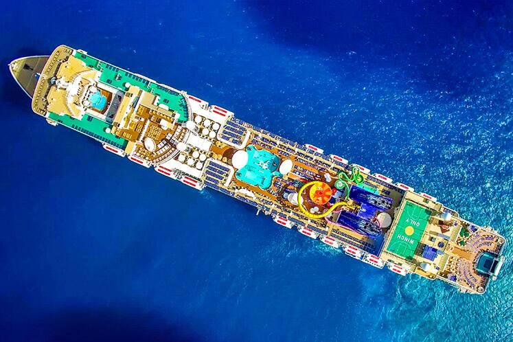 A mais nova frota de navios de cruzeiro da Norwegian