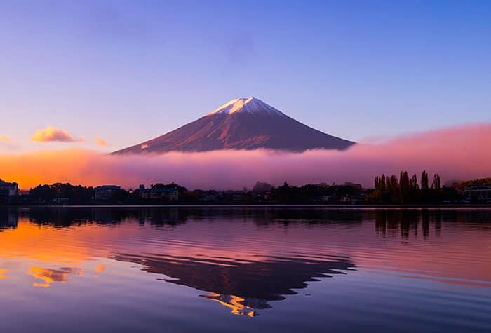 Cruceros al monte Fuji