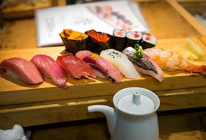 Fresh food in Niigata