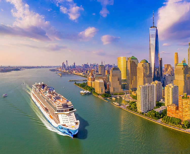 Cruises from New York