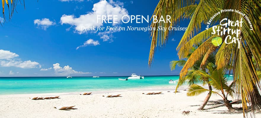 4-Day Bahamas from Miami: Free Open Bar