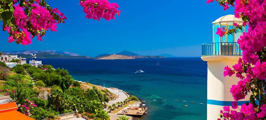 Islas griegas, viaje de ida y vuelta desde Atenas:Santorini, Miconos y Rodas, 7 días
