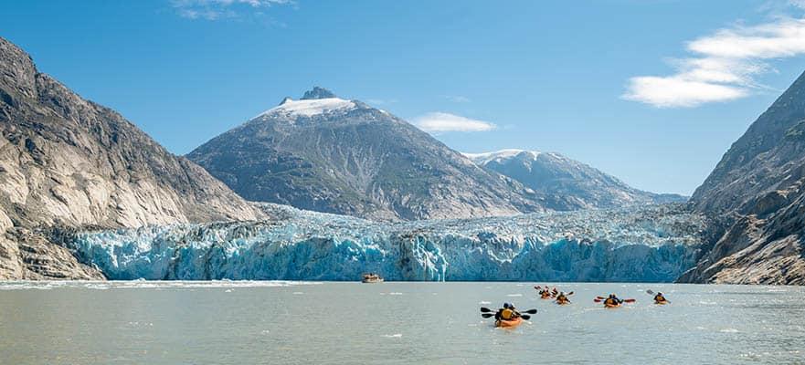 9-Day Alaska Round-trip Seattle: Dawes Glacier, Skagway & Juneau