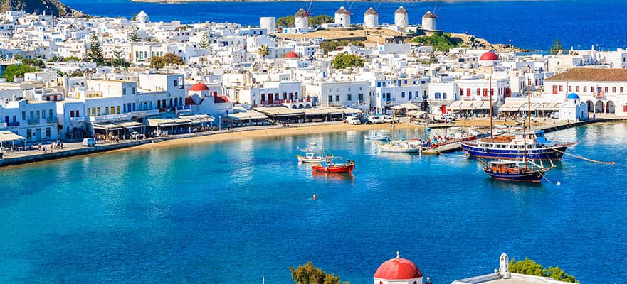 7-Day Greek Isles Round-trip Athens: Santorini, Mykonos & Rhodes