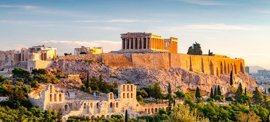 10 dias, Ilhas Gregas, viagem de ida e volta de Roma: Santorini, Míconos & Croácia