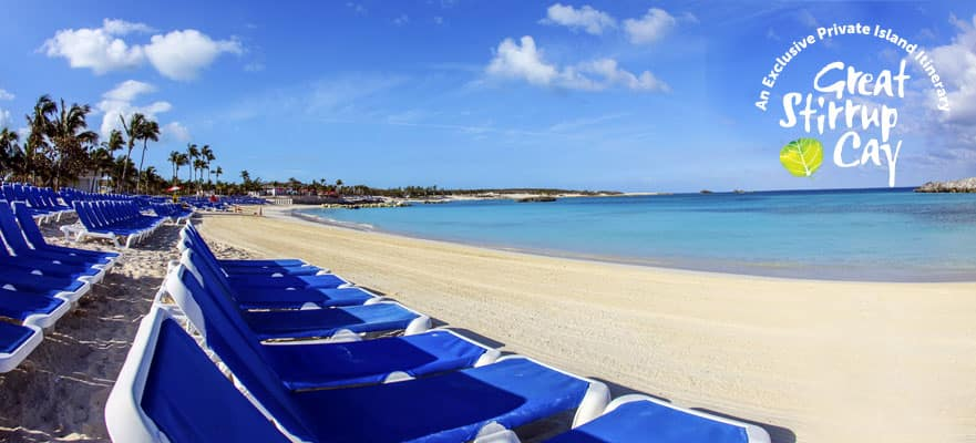 4-Day Bahamas Round-trip Miami: Great Stirrup Cay, Nassau & Grand Bahama Island