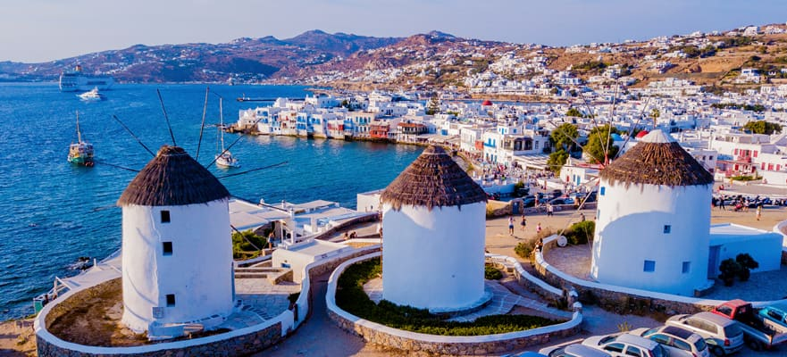 7-Day Greek Isles from Venice to Mykonos, Santorini & Croatia