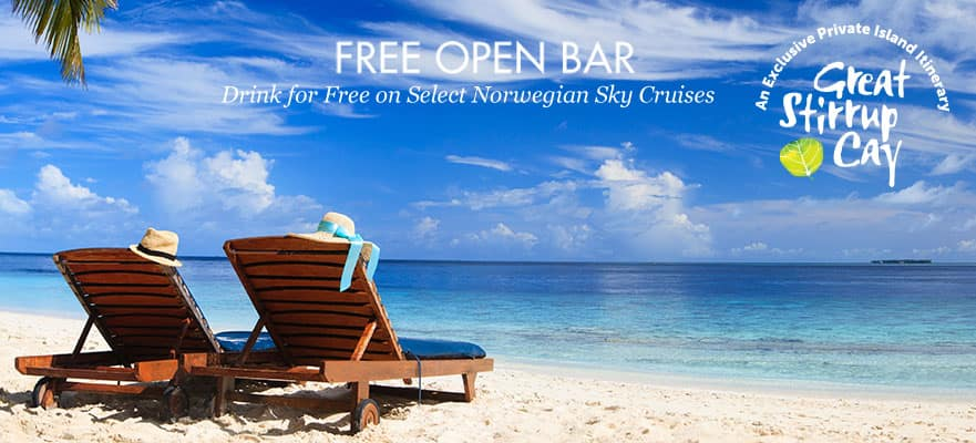 3-Day Bahamas from Miami: Free Open Bar - Fly & Cruise