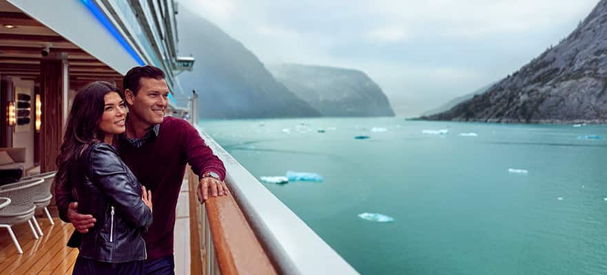 7-Day Awe of Alaska: Inside Passage & Glacier Bay from Seattle - Fly & Cruise