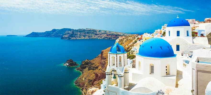 Islas griegas desde Atenas:Santorini, Miconos y Rodas, 7 días