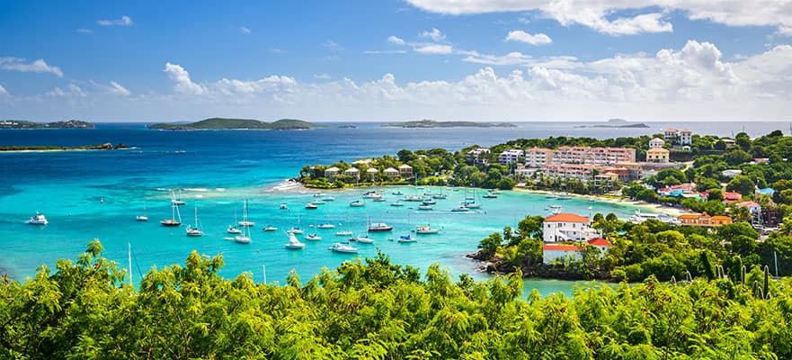 Crociera 7 giorni Caraibi da Miami: Saint Thomas, San Juan e Great Stirrup Cay