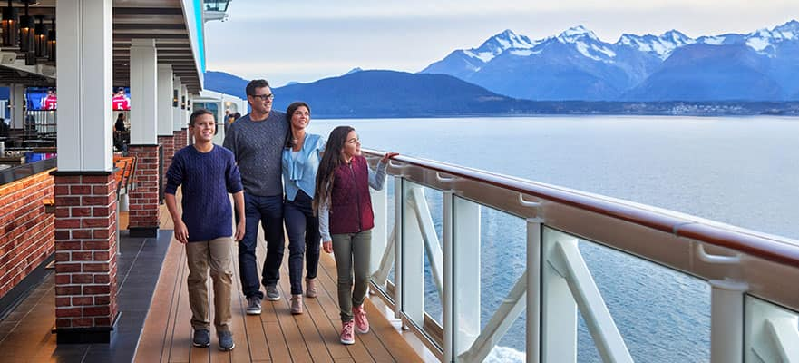 7-Day Awe of Alaska: Glacier Bay & Inside Passage from Seattle
