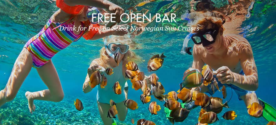 5-Day Western Caribbean from Orlando (Port Canaveral): Free Open Bar