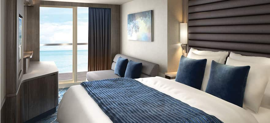 Balcony - Connecting Stateroom