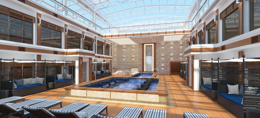 Exclusive access to The Haven Courtyard and Pool.