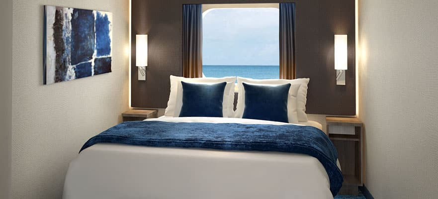 Mid-Ship Oceanview with Large Picture Window