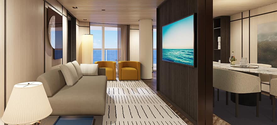 H3 - The Haven Deluxe Owner's Suite avec grand balcon
