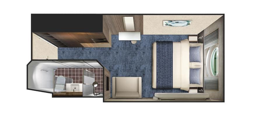 Floor plan Sail Away Oceanview