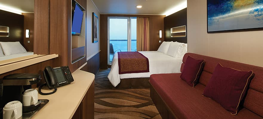 Aft-Facing Mini-Suite W/ Balcony