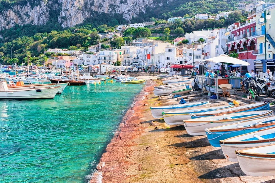 Visit the Island of Capri on an Italy Cruise with Norwegian