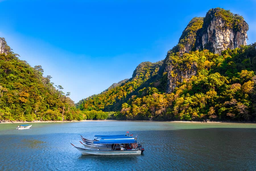 See a Traditional Fishing Boat in Langkawi, Malaysia on your Indian Ocean Cruise with Norwegian