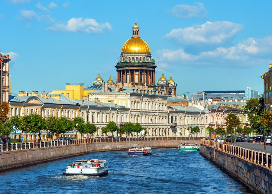 Witness stunning St. Petersburg on a Baltic and Russia Cruise with Norwegian