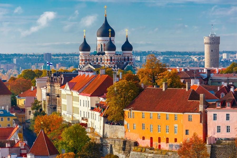 ראו את היופי של טאלין, אסטוניה, בשייט לאירופה עם נורוויג'ן