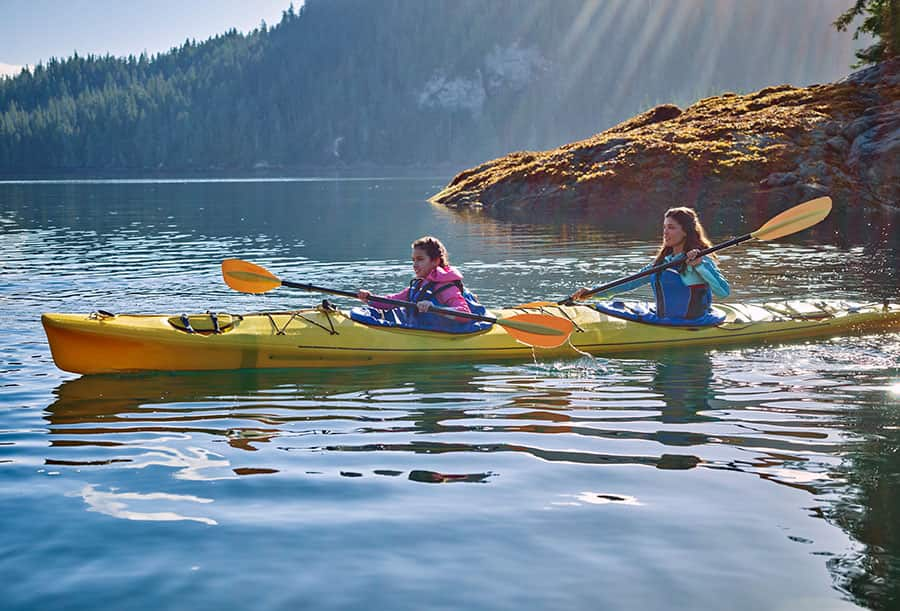 Norwegian Cruise to Alaska Kayaking Excursion
