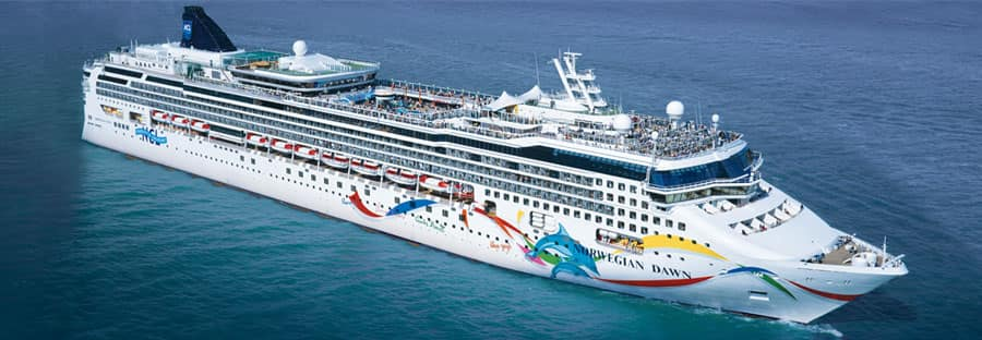 Take a cruise on Norwegian Dawn