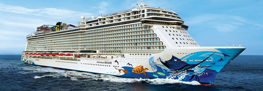 Navio de cruzeiro Norwegian Escape