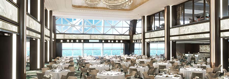 Salle Manhattan de restauration gratuite du Norwegian Encore