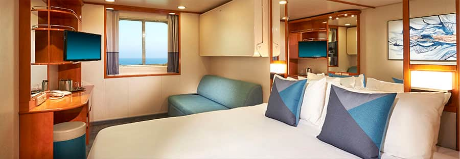 Norwegian Sun Oceanview Stateroom - Refurbished in 2018
