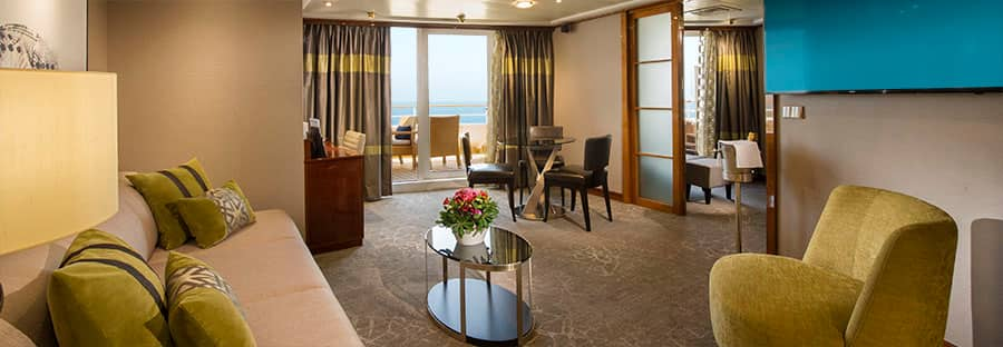Owner's Suite do Norwegian Sun – renovada em 2018