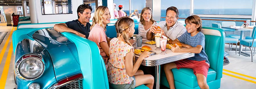 American Diner on Norwegian Encore