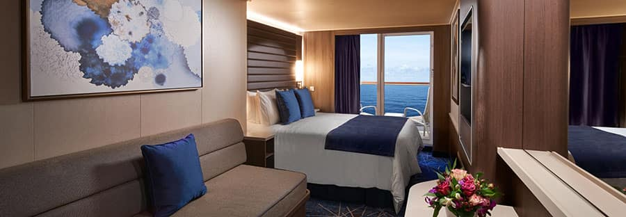 Norwegian Encore Balcony Stateroom