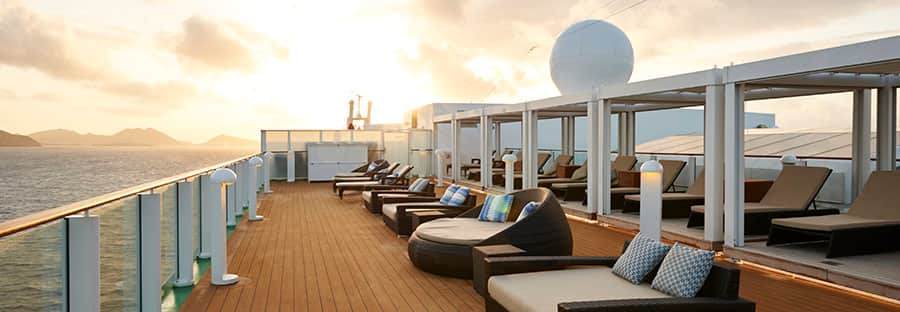 The Haven Sun Deck on  Norwegian Gem