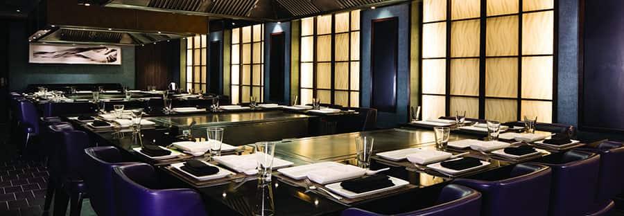 Teppanyaki, restaurante japonês estilo hibachi