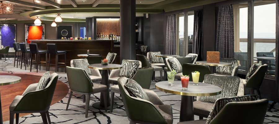 Norwegian Cruise Line Sugarcane mojito bar