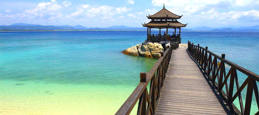Visit Sanya, China on an Asia cruise